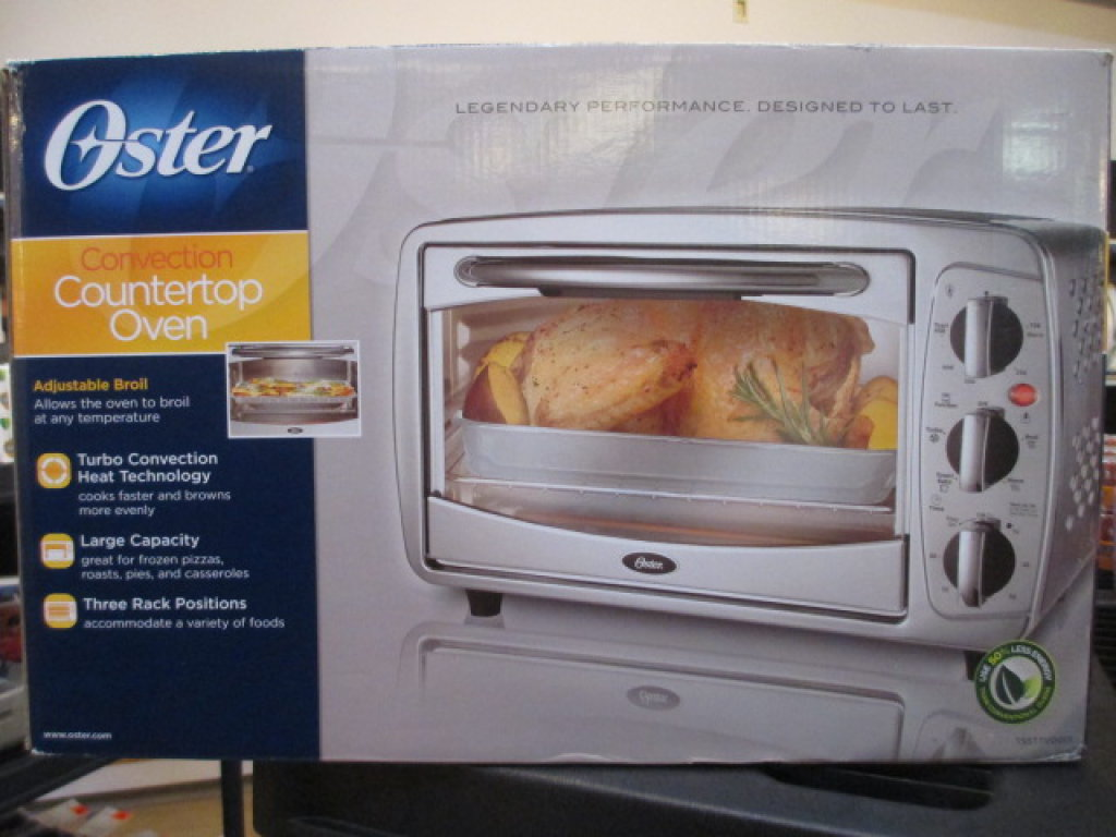 Used Oster Convection oven with box Will Not Be Shipped con 75
