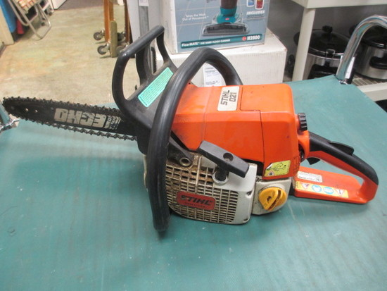 Stihl O21 Chain Saw Runs Will Not Be Shipped con 311