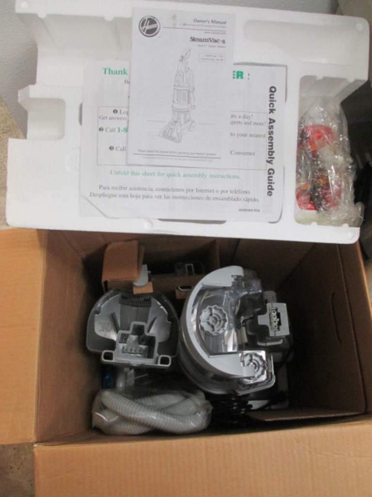 New Hoover Carpet Cleaner SteamVac Will Not Be Shipped con 514