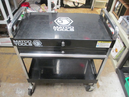 Matco Rolling Tool Cart - with Key - Will not be shipped - con 317