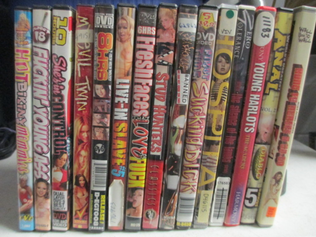 15 Adult Dvds Con 653