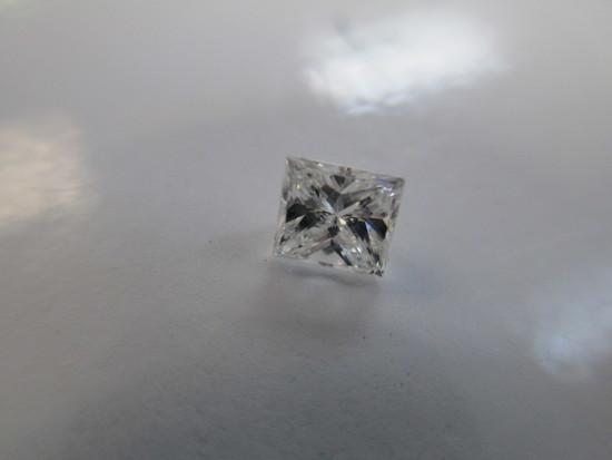 Princess Cut .5 carat Diamond- Very High Quality - color, clarity , cut - con 668