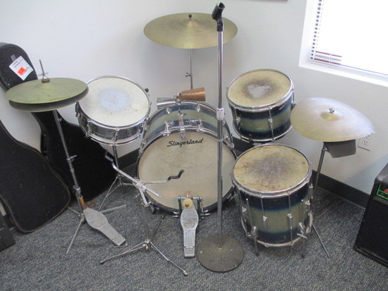 1950's Slingerland USA Vintage Drum Set - Will not be shipped -con 476