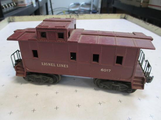 Lionel Lines 6017 Train Caboose - con 386