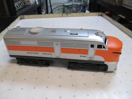Lionel Western Pacific 8361 Train Engine - con 386