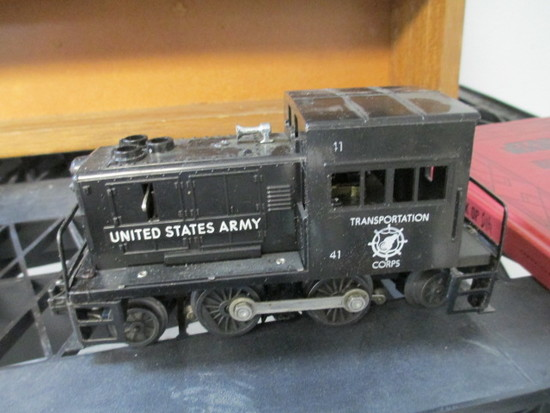 Lionel Transportation Corps  41 US Army Train Engine - con 386