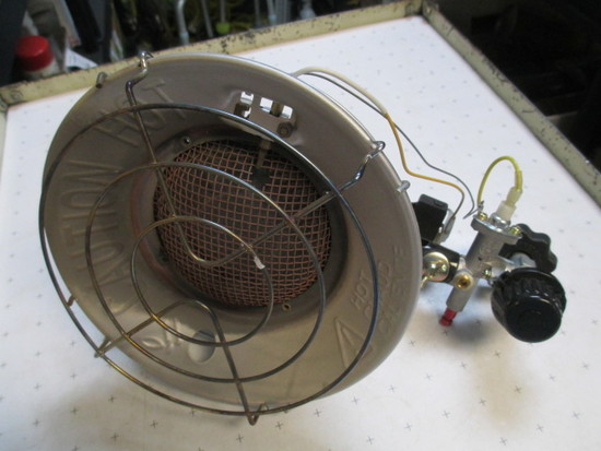 Propane Heater - Will not be shipped - con 39