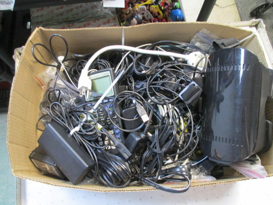 Power Cords of All Types - Will not be shipped -- con 12