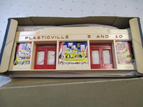Plasticville USA Model OS-5 Chain Store In Original Box - con 386