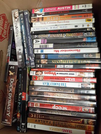 27 DVD five Box Set - con 598