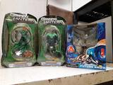 3pcs New Green Lantern Figures and Lot in Space Figure - con 119