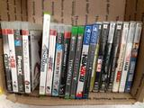 7 PSP Games - 2 Xbox one 2 ps4 7 ps3 - con 598