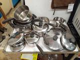 Large Lot Revere Cook-ware - Will not be shipped - con 672