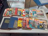 Tote of 60's Car Manuals and Magazines - con 808