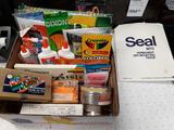 Assorted Art Supplies - Will not be shipped - con 802