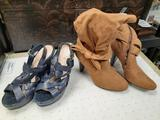 Baker and Guess Size 7 Shoes - con 1010