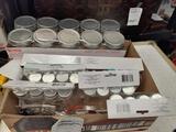 Assorted Plastic Jars - con 802