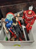 Assorted Superhero Figurines - con 802