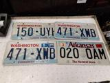License Plates and Street Sign - con 802