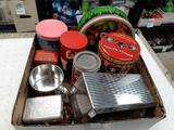 Assorted Matches, Tins and More - con 802