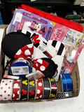 Assorted Mickey and Minnie Items - con 802