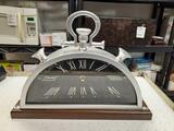 J Hepworth and Son Modern Mantle Clock - con 476
