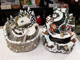 2pc Christmas Fountains - Will not be shipped - con 808
