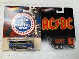 Pair of Rare AC/DC Hot Wheels - con 346