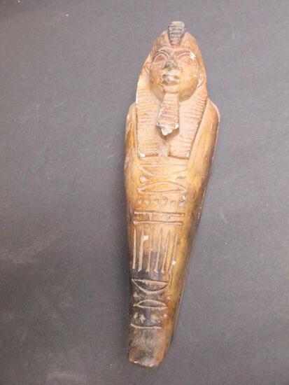 "Small Egyptian Sarcophagus ""Onnig of Cairo"" Art Piece - con 394"