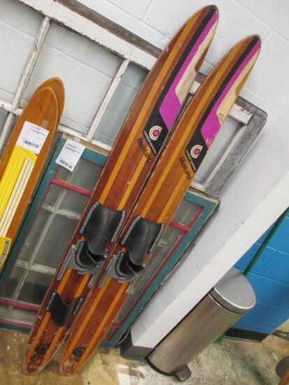 Pair of Cypress Gardens Wood Skis - Will NOT be Shipped - con 833