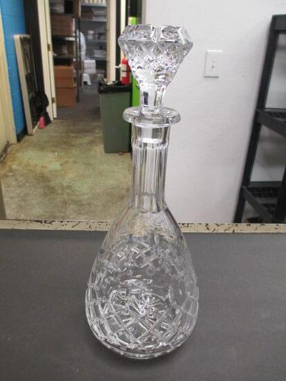 """Signed Lead Crystal Decanter by """"Rogaska"""" - Will NOT be Shipped - con 394"""