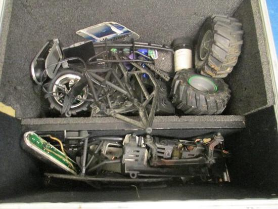 Box of RC Car Parts - will not ship - con 810
