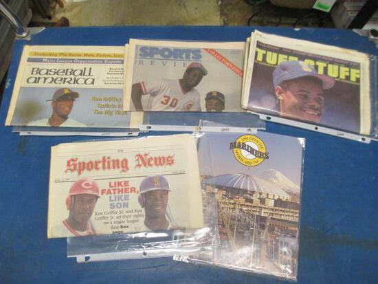 Ken Griffey Newspapers - will not ship - con 810
