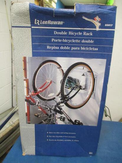 Double Bike Rack - New Open Box - will not ship - con 119