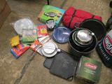 Box of Camping Gear - will not ship - con 555
