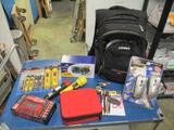 Survival Backpack and Supplies -- will not ship - con 555