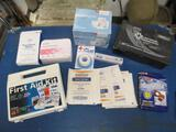 Lot of First-Aid Supplies - con 555