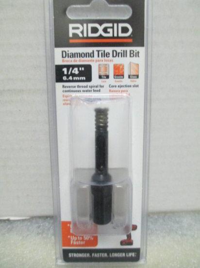 Rigid Diamond Tile Drill Bit - - In date - con 142 | Estate