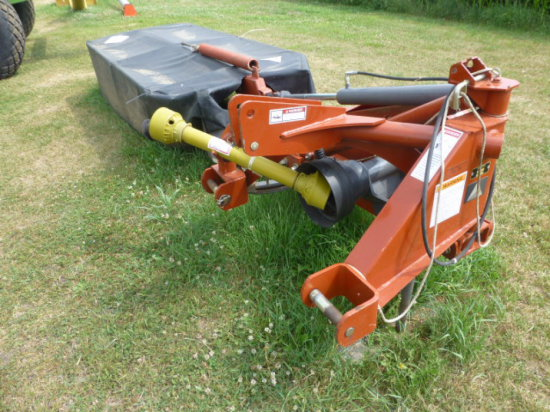 AgCo 3008 6 disc mower, hyd raise, independent gear boxes
