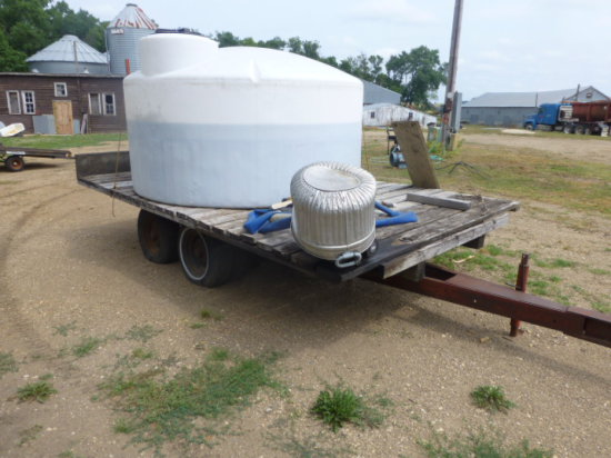 Tandem Axle Spray Tender 1,100 gal tank