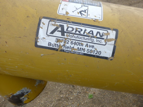 "Adrian Drive-over 13"" Grain Pit, hyd. Drive"