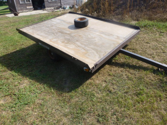 Weeres Snowmobile Trailer