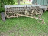 John Deere Drill w/grass seed