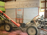 Wards Galvanized Wagon