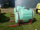 Approx. 150 gal Saddle Tanks
