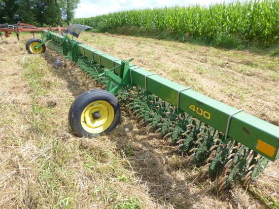 JD 400 30' 3 pt. Rotary Hoe