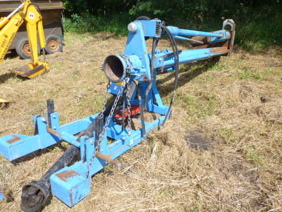 "Betterbuilt 6"" 10' 3 pt. Manure Pump"