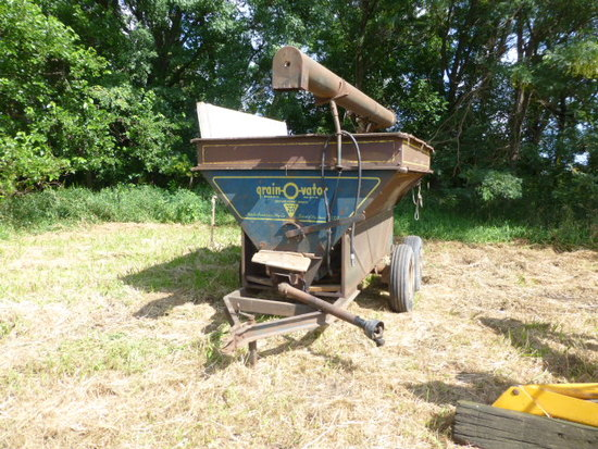Grain-o-Vator Auger Cart