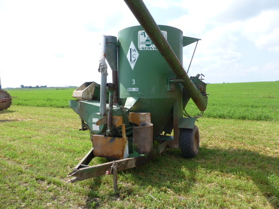Lorenz LMC100 all hyd. Grinder Mixer