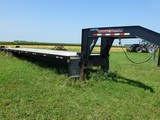 2007 Trailerman 44' Fifth Wheel Flatbed